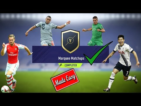 FIFA 18 Marquee Matchups Made Easy!  Feb. 6th