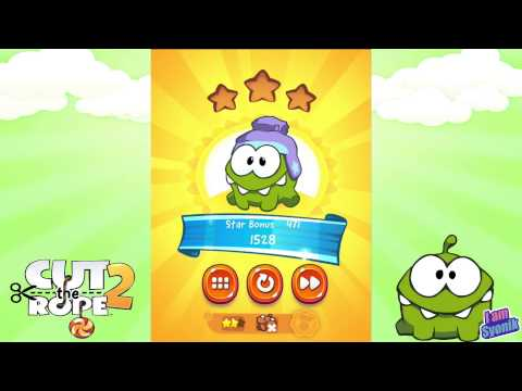 Cut The Rope 2 - Sandy Dam - Level 1-20 - Medal Mission Playthrough. (HD)