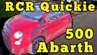 Fiat 500 Abarth: RCR Quickie