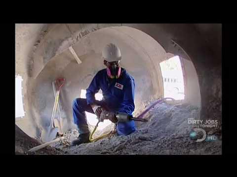 dirty jobs concrete chipper movie PART 2
