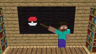 Minecraft Monster School Pokémon fight