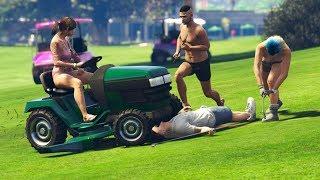 GTA V - RANDOM & FUNNY MOMENTS 71 (Golf Day, NPC Insults!)