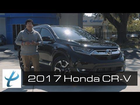 2017 Honda CR-V Touring Walk Around and Review (NEW)