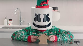 Gingerbread House Challenge | Cooking with Marshmello