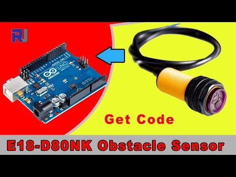 E18-D80NK IR Obstacle Sensor Switch with Arduino Code