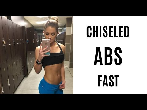 CHISELED ABS | #GetFitWithWhit 💪