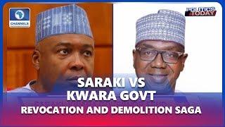 Analysts Debate Demolition Of Saraki Family Property