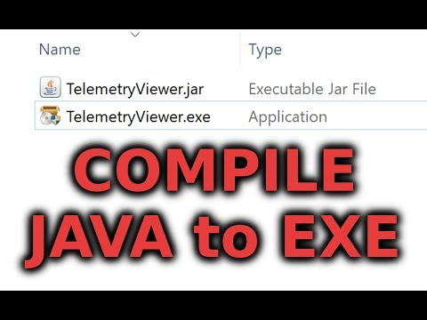 How to Compile Java Programs into EXEs
