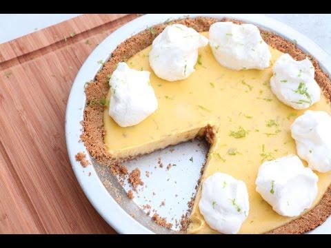 The BEST Gluten Free Key Lime Pie