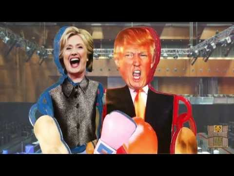 Donald Trump vs Hillary Clinton Election Death Match Boxing (Russian Edition)
