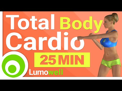 Total Body Cardio Workout to Lose Weight at Home - 25 Min