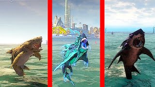 Maneater - All Shark Evolutions (maxed out) Shark Gameplay