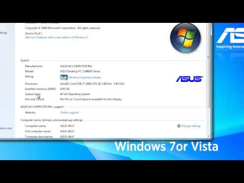 Determining if your Windows OS (XP, 7 or 8) is 32 or 64 bit
