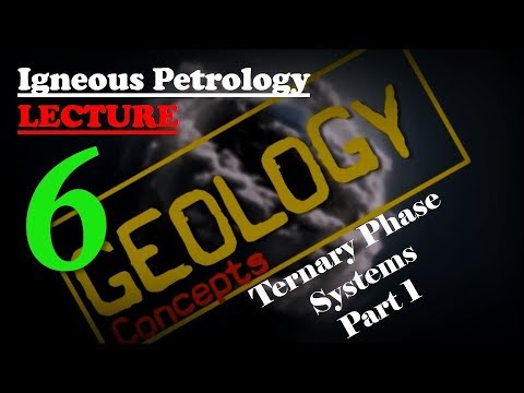 Igneous petrology - 6 | Ternary system part 1 of 3 | Geology concepts