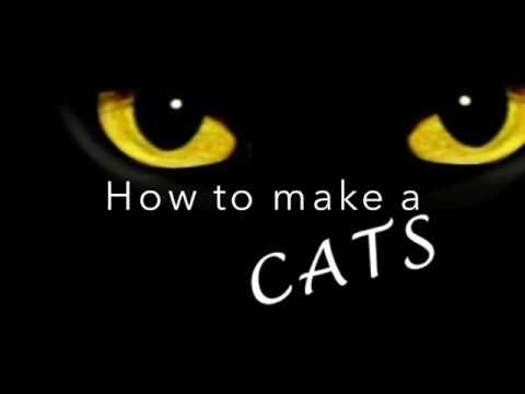 How to make a Cats the musical costume tail. Cats Cosplay