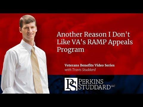 Another Reason I Don't Like VA's RAMP Appeals Program