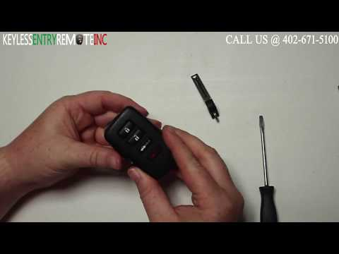 How To Replace A 2013 - 2018 Lexus GS350 Key Fob Battery