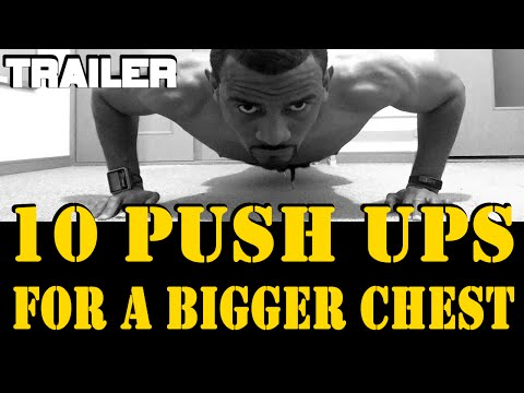 Do These Pushups for Bigger Chest - Top 10 Push Ups for a Bigger Chest Trailer