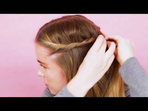3 Ways to Wear Side Twists | How To: Hair | Real Simple