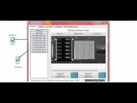 How to Backup Cisco Switch Configuration in Cisco Packet Tracer 2015