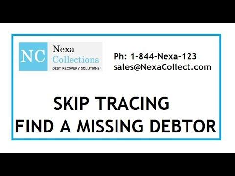 Skip Tracing - Find your missing debtor