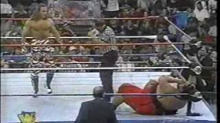 Yokozuna vs Shawn Michaels on Raw