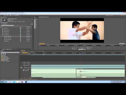 PremierePro Tutorial:1: Sound Effects for action scene (by Nipan)