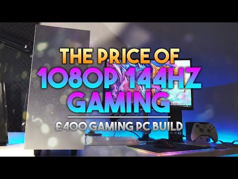 £400 / $500 144Hz i7 Gaming PC! ~ £400 Cheap PC Challange ~ How Much Does 144Hz PC Gaming Cost?