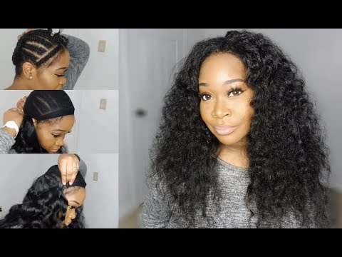 DIY Middle-Part Sew-In Install W/ Minimal Leave-Out   Leyonda's Hair Boutique