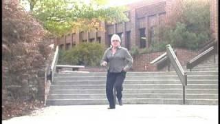 crazy lady attacks skateboarders