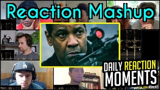 The Equalizer 2 - Official Trailer #2 - Reaction Mashup