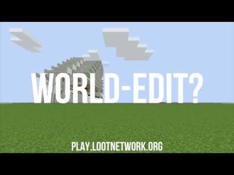 Creative Server Minecraft with World Edit and Big Plots 1.8