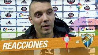 "Iago Aspas: ""Hoy eran tres puntos importantes"""