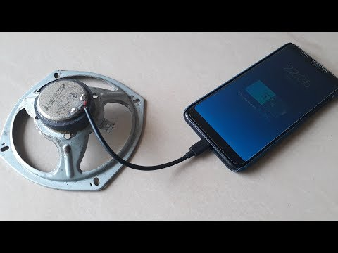 Free Energy Generator with Using Speaker Magnet