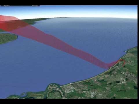Flight animation using KML in Google Earth