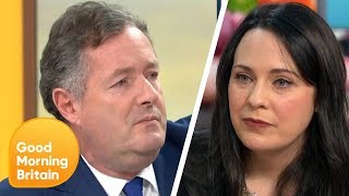Piers and Deputy Green Party Leader Clash in Meat Tax Debate   Good Morning Britain