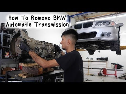 How To Remove BMW E46 Automatic Transmission