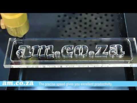 TruCUT CNC Laser 90W CO2 Cut 6mm Plexiglas Acrylic Glass Sheeting