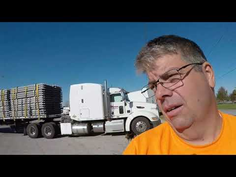 #169 Altanta Traffic and How I Fill the DEF Tank The Life of an Owner Operator Flatbed Truck Driver