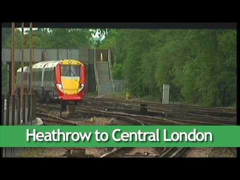 Airport Express Trains - Heathrow to London and more