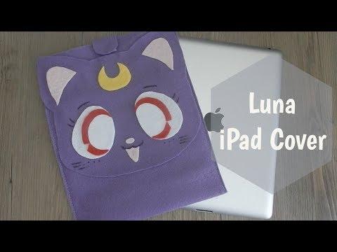 Felt iPad Cover Luna Sailor Moon