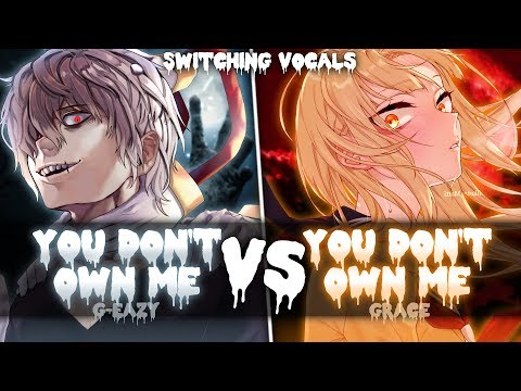 ◤Nightcore◢ ↬ You don't own me [Switching Vocals]
