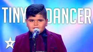 اراب جوت تالنت حسين دريد حسوني من العراق   Kid Dancer On Arab's Got Talent 2017 Husein