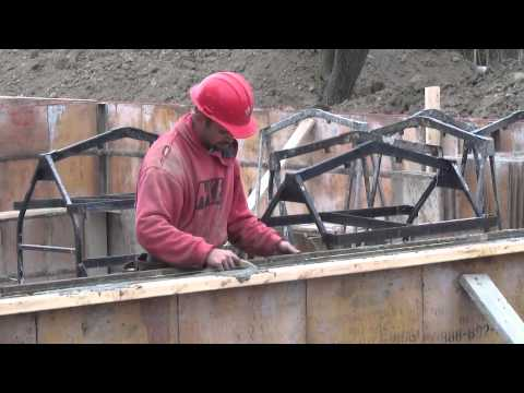 How To Build A House: Pouring The Concrete Walls. EP 23