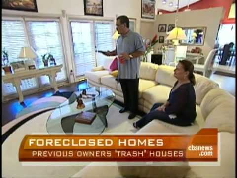 Foreclosed Homes Trashed