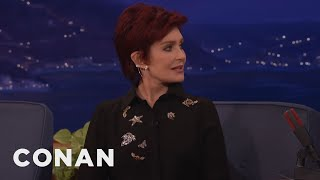 Sharon Osbournes Sexy Punishment For A Cheating Ozzy Conan On Tbs