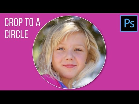 Crop an Image to a Circle in Photoshop