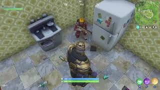 Thanos Teaming in Fortnite!!