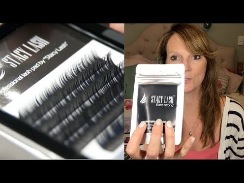 Stacy Lash eyelash extensions product review