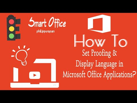 Set Proofing & Display Language in Office 365 Applications